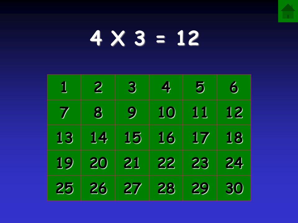 4 X 3 = 1111 2222 3333 4444 5555 6666 7777 8888 9999 10 11 12 13 14 15 16 17 18 19 20 21 22 23 24 25 26 27 28 29 30