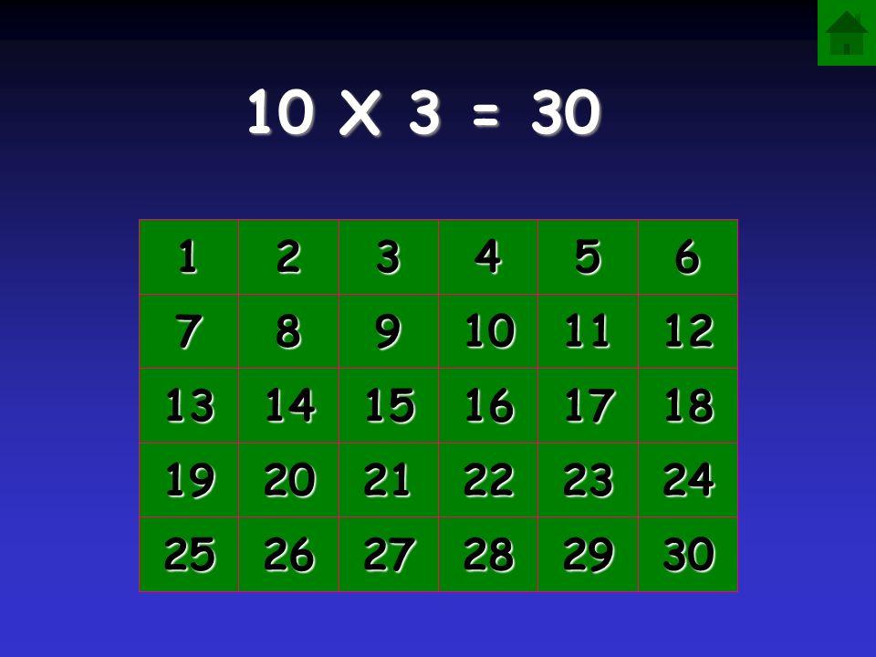 10 X 3 = 1111 2222 3333 4444 5555 6666 7777 8888 9999 10 11 12 13 14 15 16 17 18 19 20 21 22 23 24 25 26 27 28 29 30