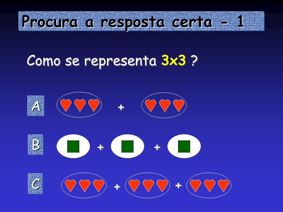SAIR VOLTAR 1 X 3 = 3 1 X 3 = 3 2 X 3 = 6 2 X 3 = 6 3 X 3 = 9 3 X 3 = 9 4 X 3 = 12 4 X 3 = 12 5 X 3 = 15 5 X 3 = 15 6 X 3 = 18 6 X 3 = 18 7 X 3 = 21 7