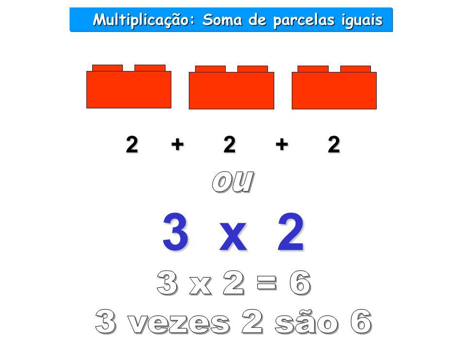 2 + 2 + 2 3 x 2