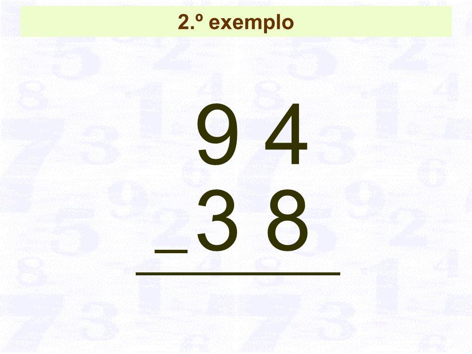9 4 3 8 2.º exemplo
