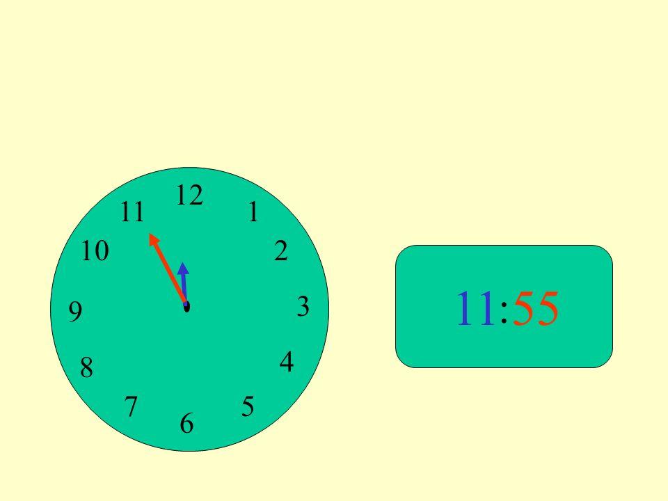 12 9 3 6 1 2 4 57 8 10 11 : 55