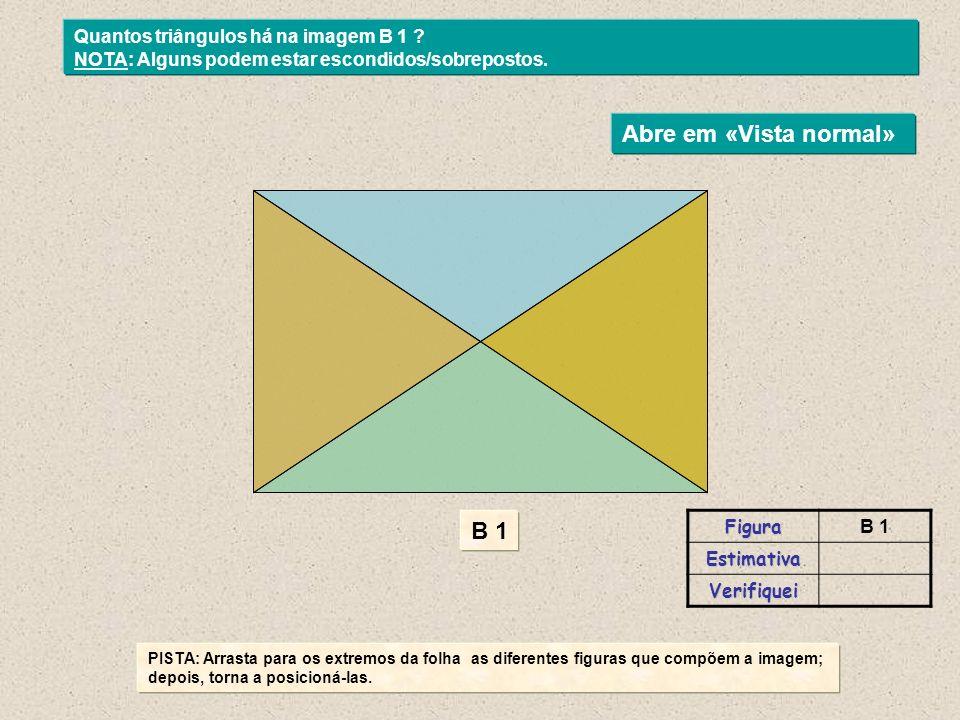 PISTA: Arrasta para os extremos da folha as diferentes figuras que compõem a imagem; depois, torna a posicioná-las.