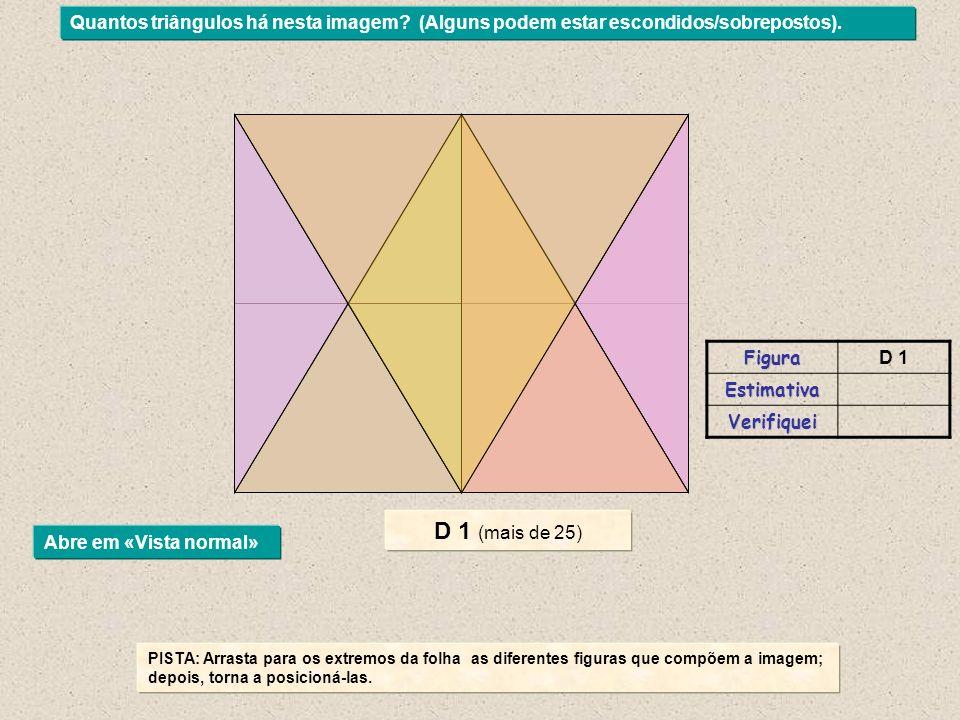 Quantos triângulos há nesta imagem.(Alguns podem estar escondidos/sobrepostos).
