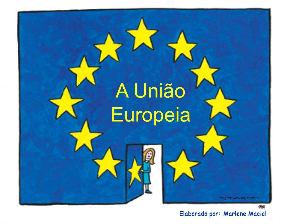 Um novo nome para a CEE o Tratado de Ma União Europeia Em 1993 é assinado o Tratado de Maastricht, em que se alterou a designação de Comunidade Económica Europeia para União Europeia.