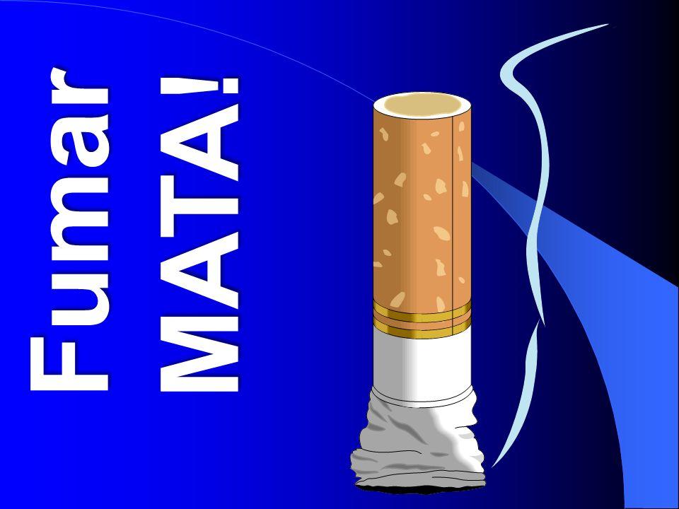 Epidemia Tabágica 1 000 000 000 de fumadores no mundo, 47% masc.