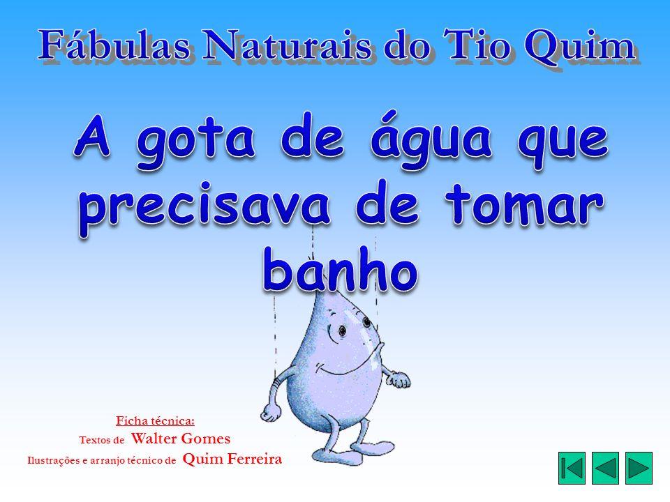 Ficha técnica: Textos de Walter Gomes Ilustrações e arranjo técnico de Quim Ferreira