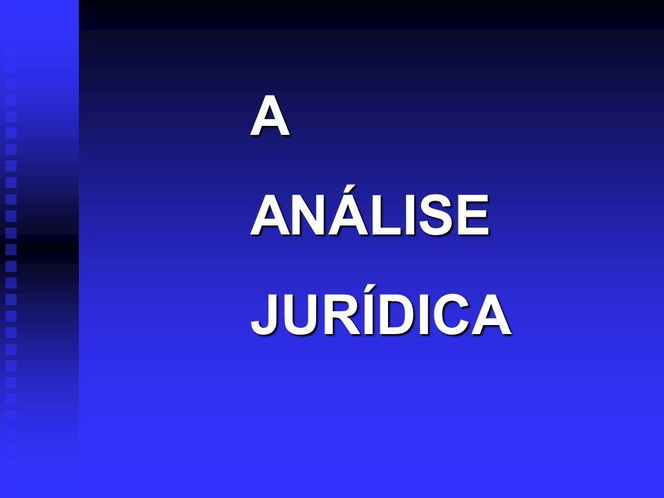 AANÁLISE JURÍDICA JURÍDICA.