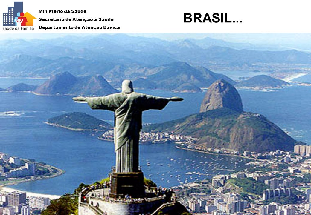 Ministério da Saúde Secretaria de Atenção a Saúde Departamento de Atenção Básica BRASIL...