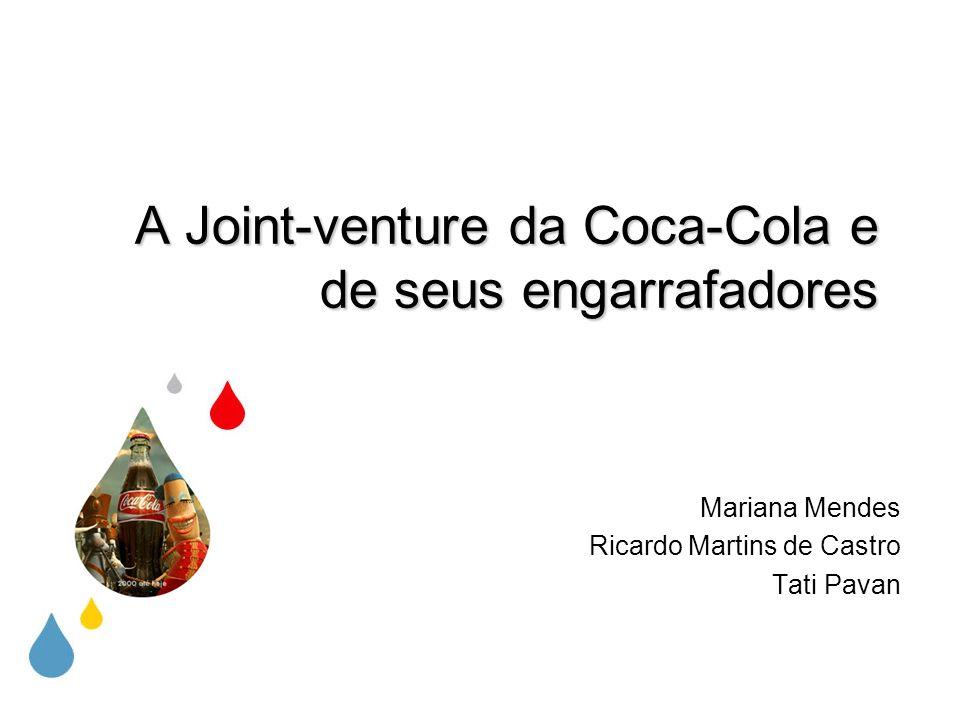 Coca-Cola Com aproximadamente 400 marcas, a empresa atua em mais de 200 países A Divisão Brasil é a terceira maior operação da Coca-Cola Company Possui 17 engarrafadores no Brasil