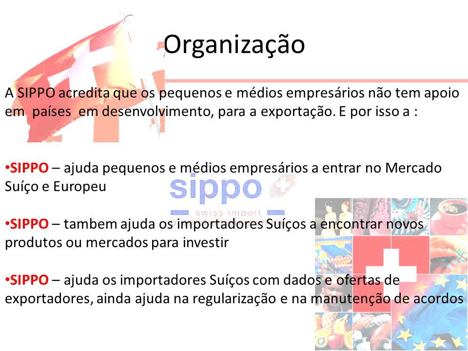 Organização A SIPPO acredita que os pequenos e médios empresários não tem apoio em países em desenvolvimento, para a exportação.