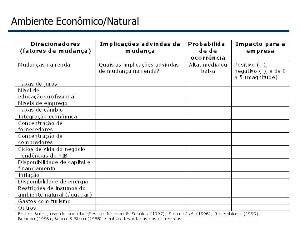 24 Ambiente Econômico/Natural