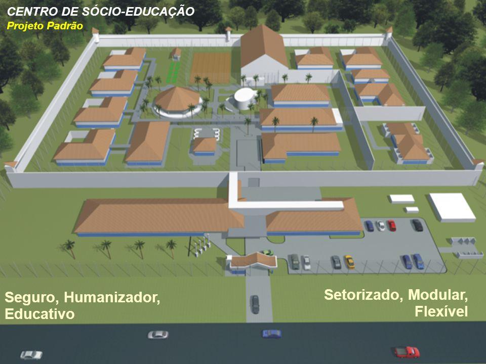 Setorizado, Modular, Flexível Seguro, Humanizador, Educativo CENTRO DE SÓCIO-EDUCAÇÃO Projeto Padrão