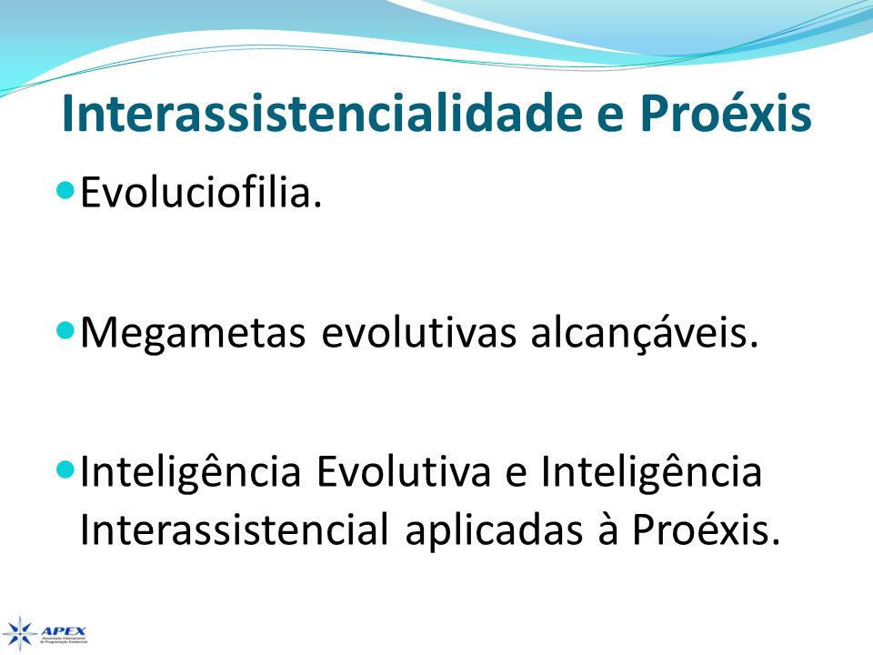 Evoluciofilia Definição.