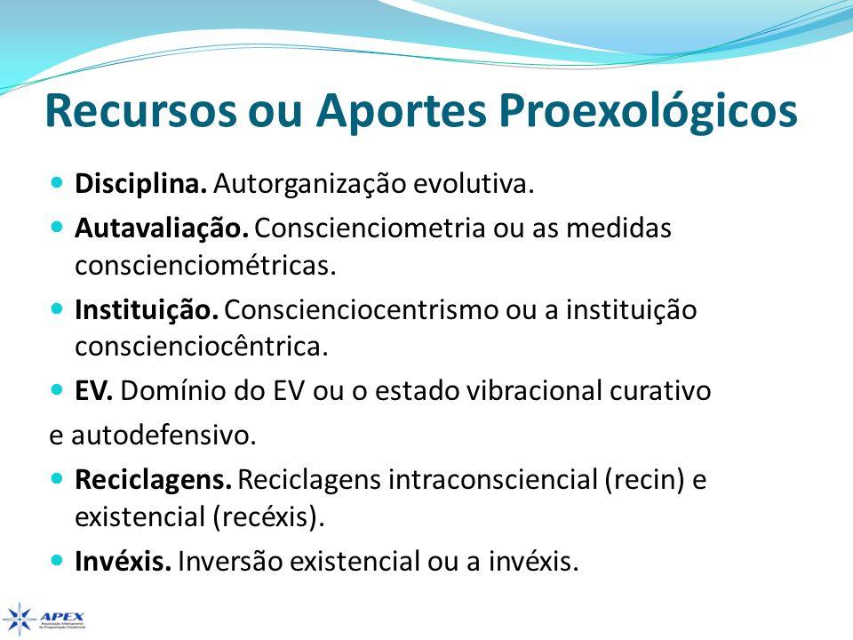 Recursos ou Aportes Proexológicos Dupla.Constituição de uma dupla evolutiva.