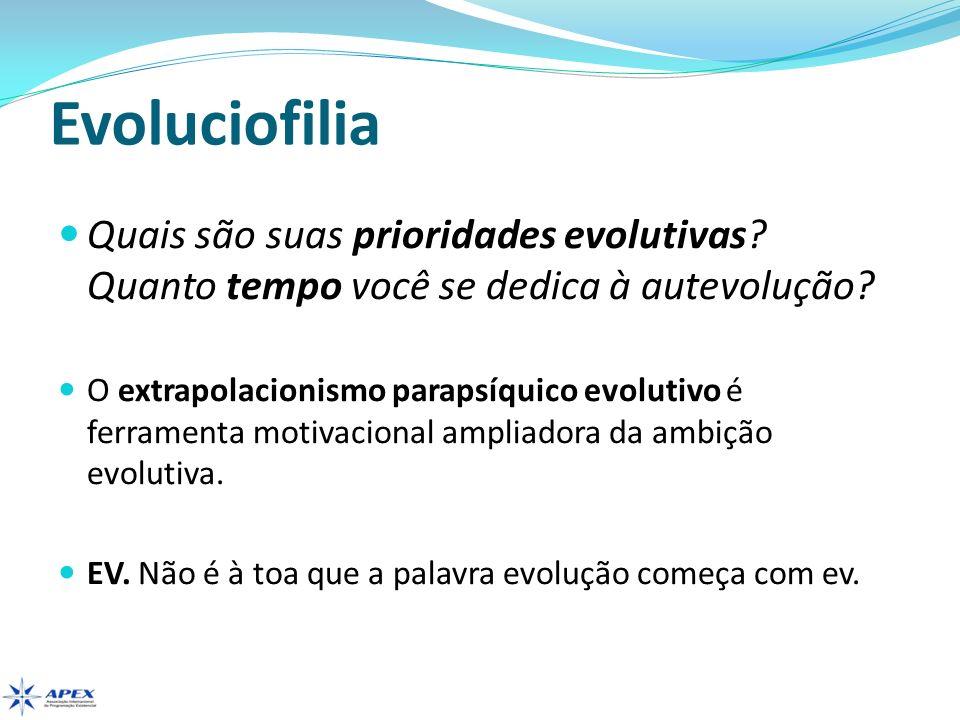 Evoluciofilia Evolução.