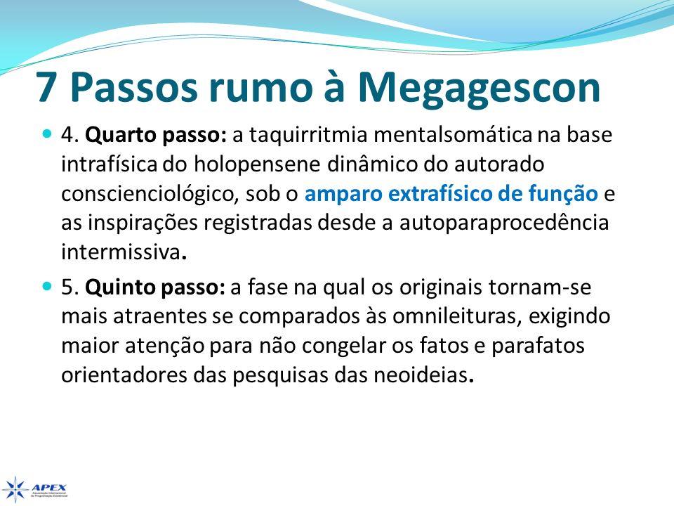 7 Passos rumo à Megagescon 4. Quarto passo: a taquirritmia mentalsomática na base intrafísica do holopensene dinâmico do autorado conscienciológico, s
