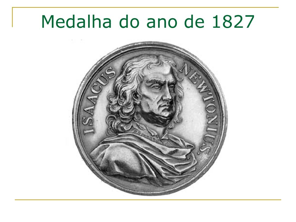 Medalha do ano de 1827