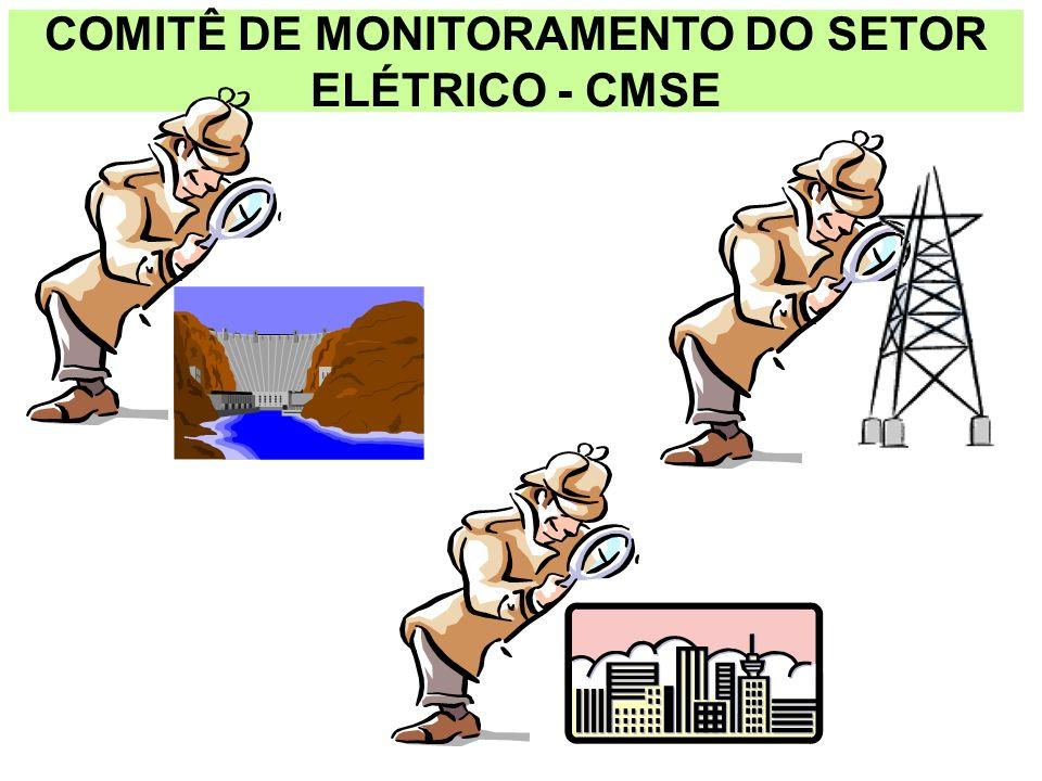 COMITÊ DE MONITORAMENTO DO SETOR ELÉTRICO - CMSE