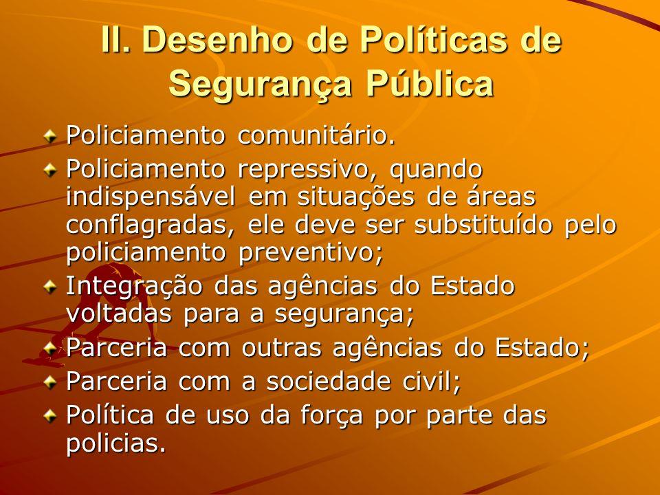 III.O Município e a segurança pública Segurança é um problema dos municípios.