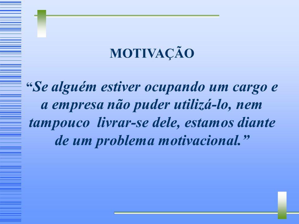 Os Principais Fatores Considerados no Brasil: (Bergamini & Coda ) 10. Acesso – Continuidade de realização do mesmo tipo de trabalho até o final da car