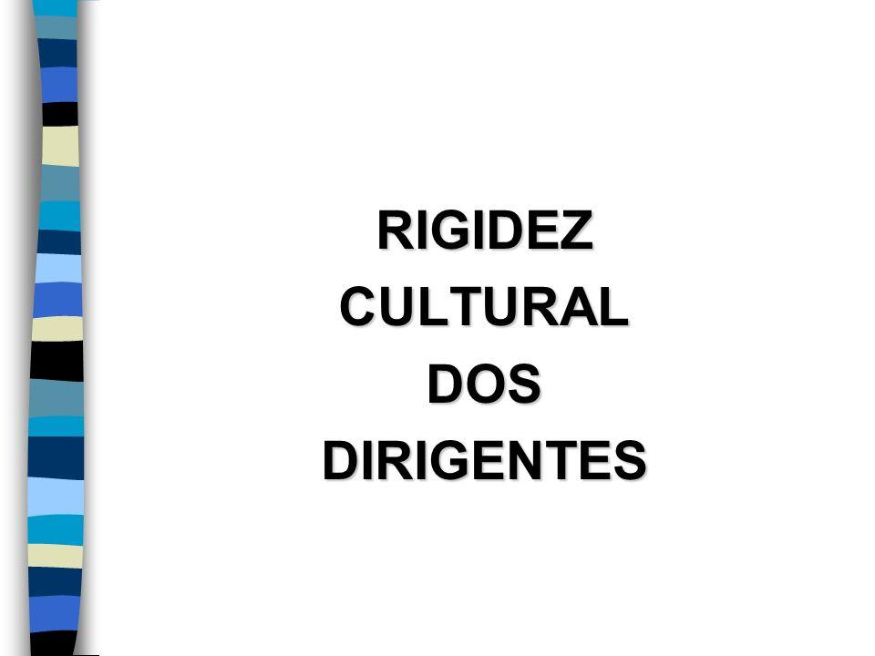 RIGIDEZCULTURALDOSDIRIGENTES