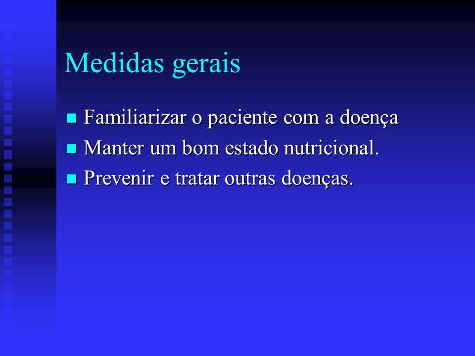 Tratamento Medidas gerais. Medidas gerais. Tratamento sintomático. Tratamento sintomático. Tratamento das crises miastênicas. Tratamento das crises mi