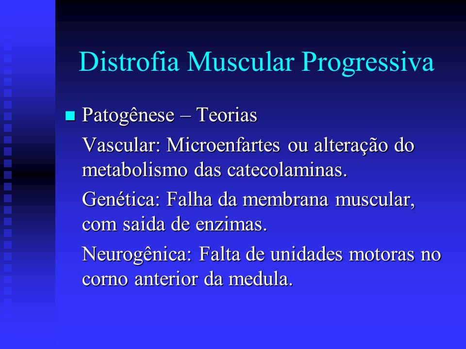 Miopatias associadas à moléstias malignas Ao carcinoma Ao carcinoma A reticulose A reticulose