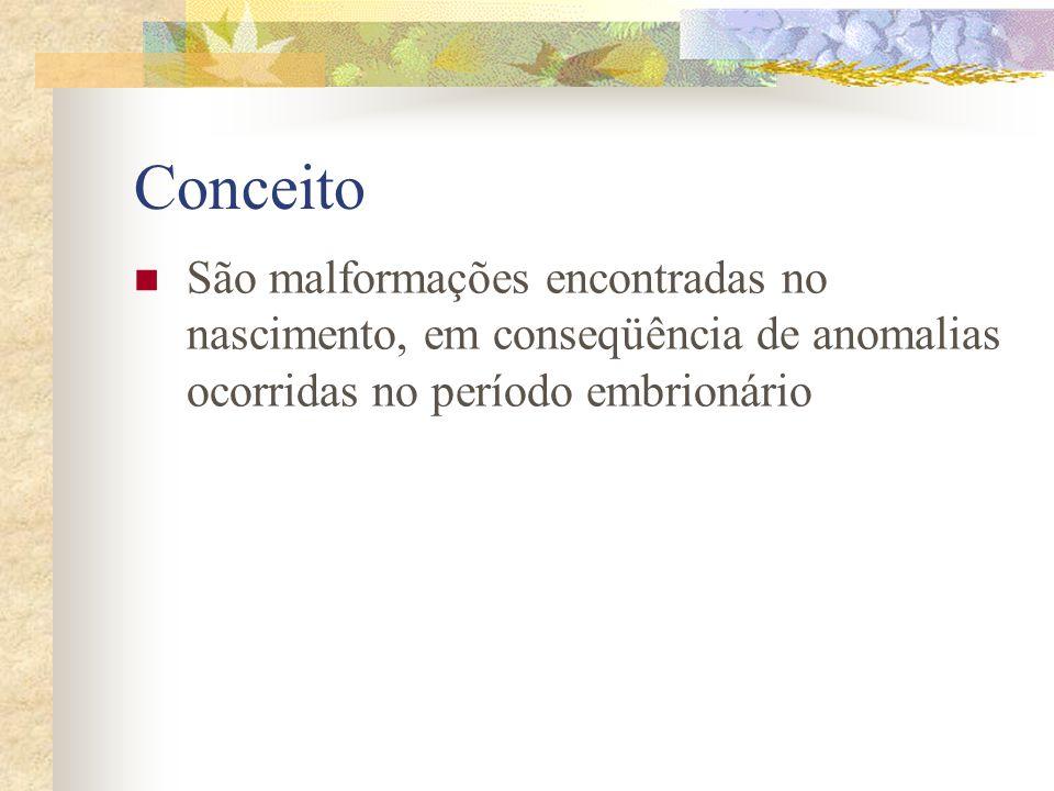 DEFEITOS DO DESENVOLVIMENTO CONFERÊNCIA Dr. Antonio Jesus Viana de Pinho