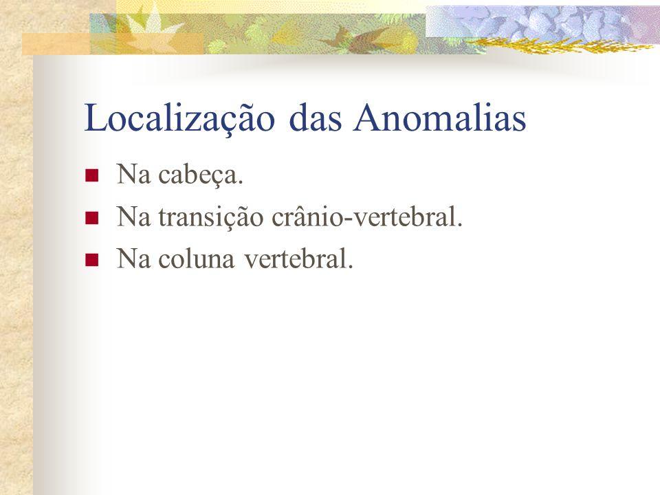 Causas 1) Fatores genéticos. 2) Agentes teratogênicos ambientais. 3) Anóxia intra-útero. 4) Irradiação ionizante. 5) Medicamentos. 6) Infecções. 7) Do
