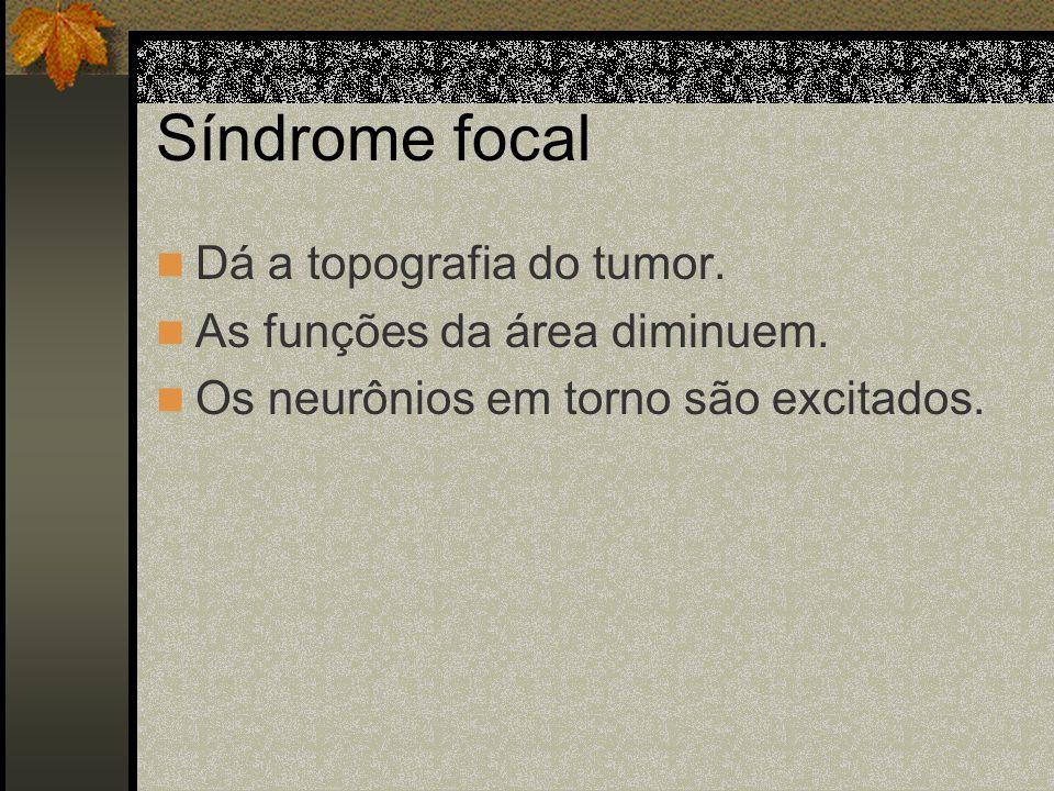 Síndrome Geral Bradicardia Respiração de Biot Vertigens Alteração do estado psíquico Convulsões Facies tumoral
