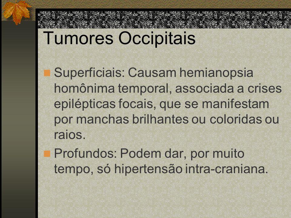 Tumores Parietais Posteriores De Hemisfério Não-dominante Provoca uma negligência ou até uma ausência total da consciência do hemi- corpo contra-later