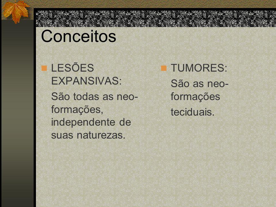 Tumores Temporais Anteriores: mudos Posteriores: - Hemisfério dominante: disfasia sensitiva.