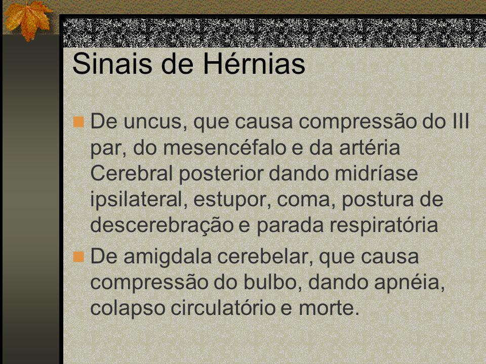 Tumores cerebelares Do Vermis: perturbação estática do equilíbrio, com tendência a retro-pulsão, nistagmo, vertigem. Dos hemisférios: síndrome cinétic