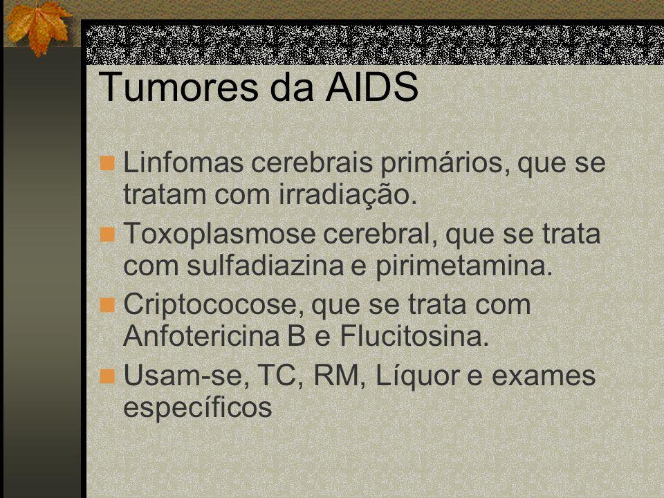Metástases Leptomeningeais Origem: mamas, linfomas, leucemias. Agem de forma multifocal e causam lesões de raízes, invasão do cérebro e medula e hidro