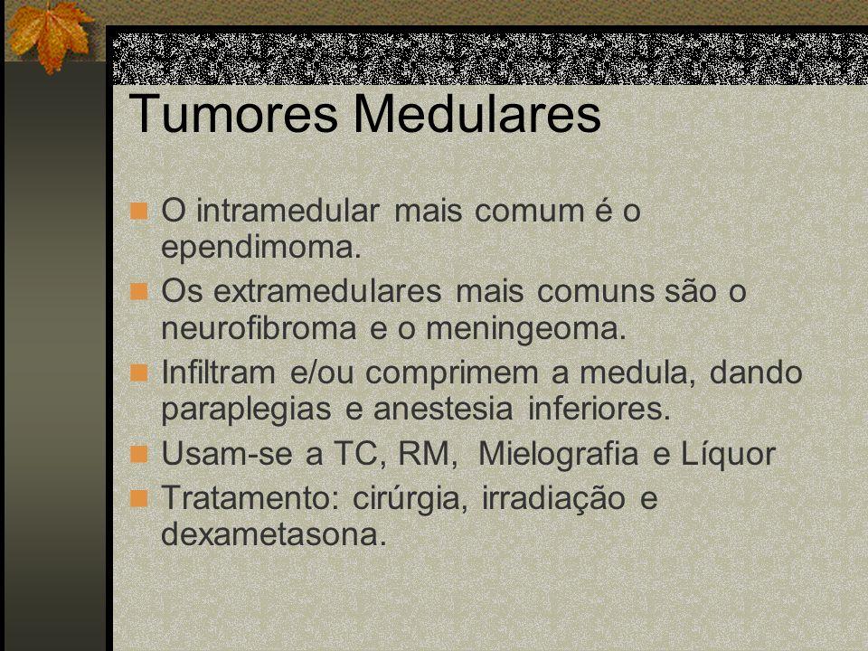 Tumores da AIDS Linfomas cerebrais primários, que se tratam com irradiação. Toxoplasmose cerebral, que se trata com sulfadiazina e pirimetamina. Cript