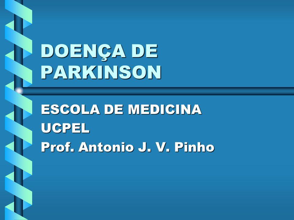 Sinonímia Paralisia agitanteParalisia agitante Síndrome rígida acinéticaSíndrome rígida acinética