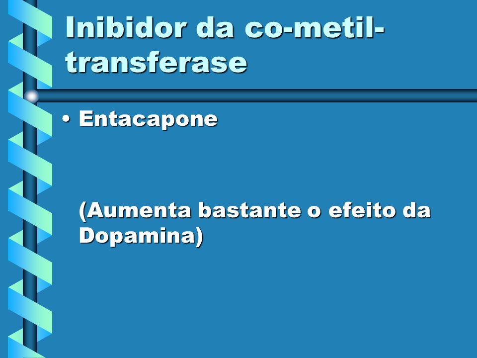 Anticolinérgicos BenzexolBenzexol (Eficácia limitada) BenztropinaBenztropina (Útil para o tremor)