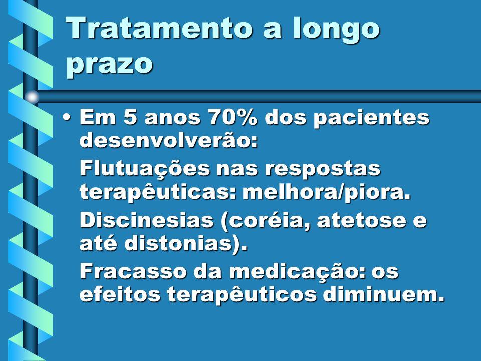 Tratamento cirúrgico TalamotomiaTalamotomia PalidotomiaPalidotomia Transplante de substância negra fetalTransplante de substância negra fetal