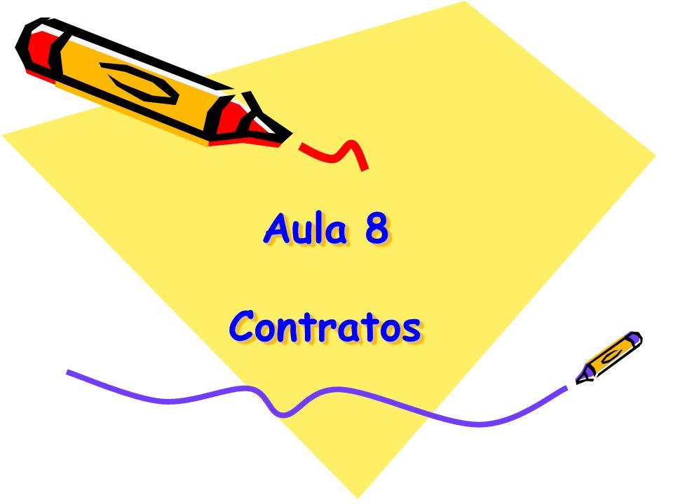 Aula 8 Contratos