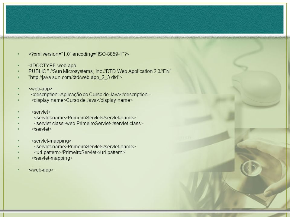 <!DOCTYPE web-app PUBLIC
