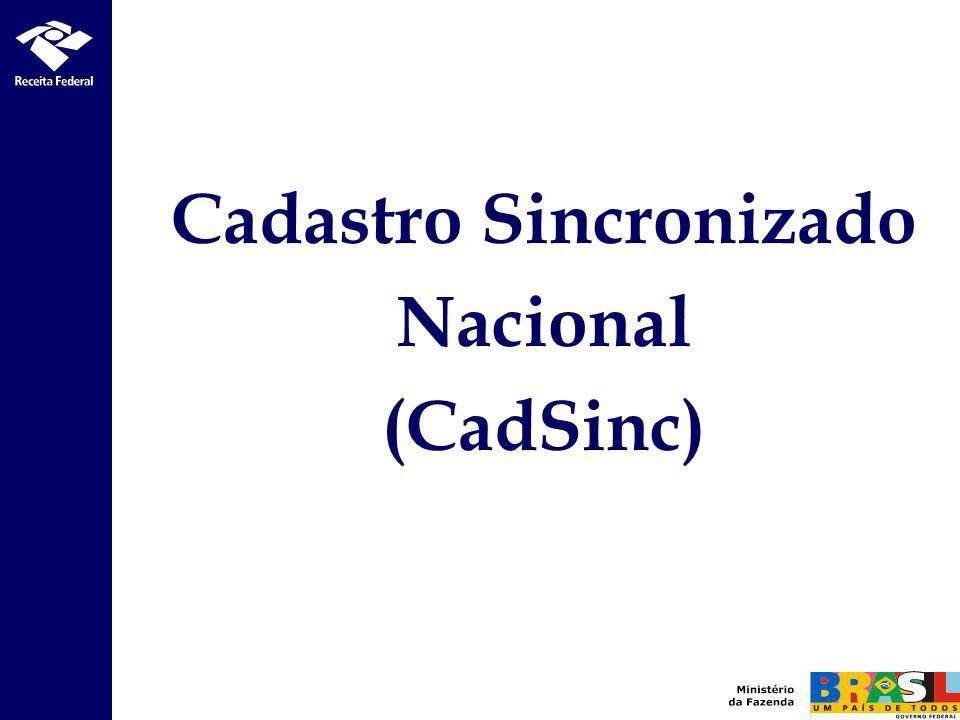 Cadastro Sincronizado Nacional (CadSinc)