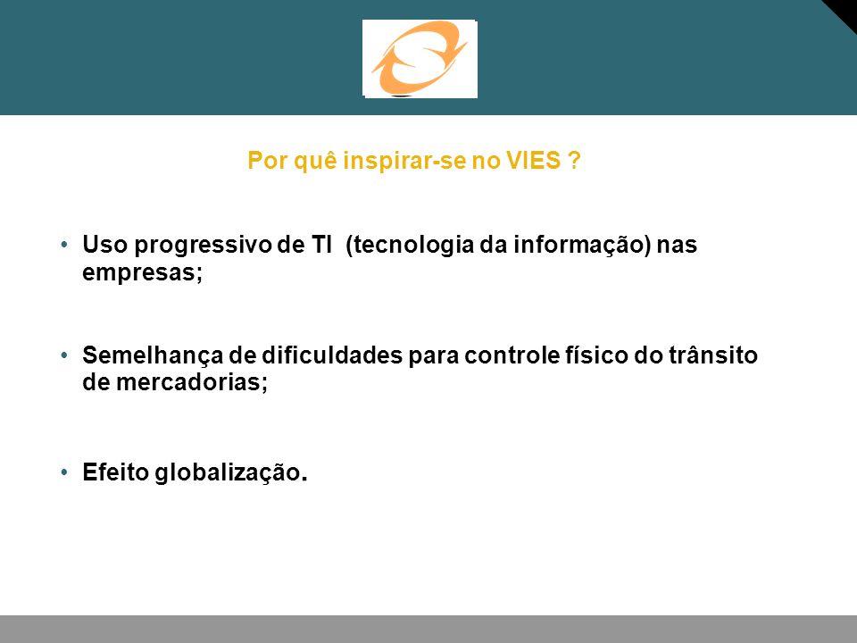 Modelo brasileiro Intercâmbio das informações sobre operações de entradas e saídas interestaduais realizadas pelos contribuintes do ICMS.