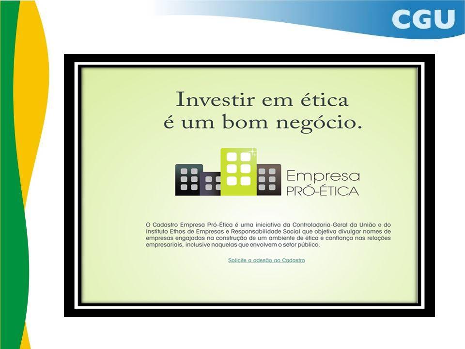 Cadastro Empresa Pró-Ética Comitê Gestor