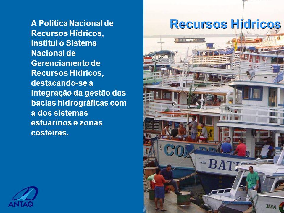 A Política Nacional de Recursos Hídricos, institui o Sistema Nacional de Gerenciamento de Recursos Hídricos, destacando-se a integração da gestão das