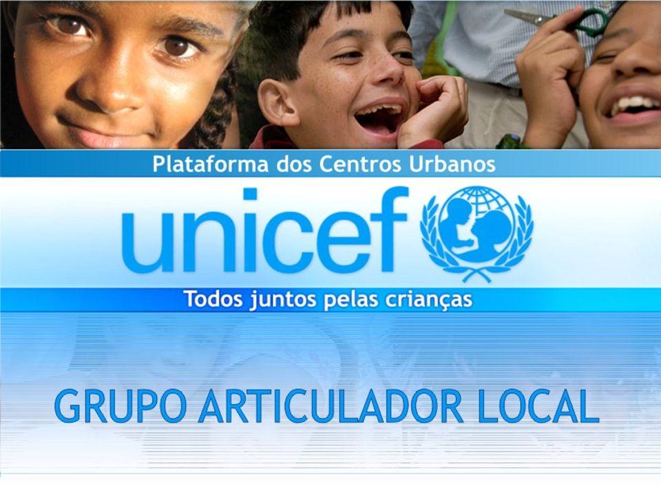 Plataforma do UNICEF para os Centros Urbanos Desafio Como assegurar que todas as crianças e adolescentes que vivem nos centros urbanos brasileiros tenham seus direitos protegidos, respeitados e garantidos?