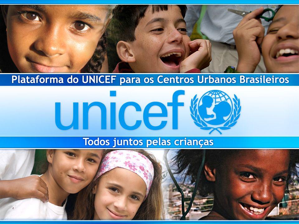 UNICEF no Mundo Hoje, atua em 190 países em todo o mundo, defendendo os direitos humanos de crianças e adolescentes Sede / Escritórios centrais Escritórios de campo (A.