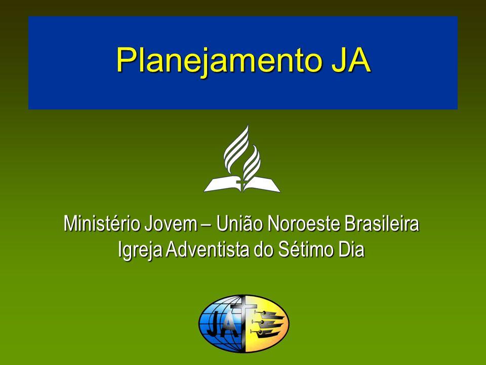 Planejamento JA O planejamento é essencial para um Ministério Jovem eficaz.