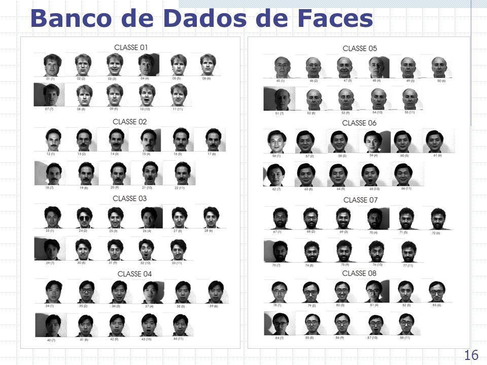 Banco de Dados de Faces 16
