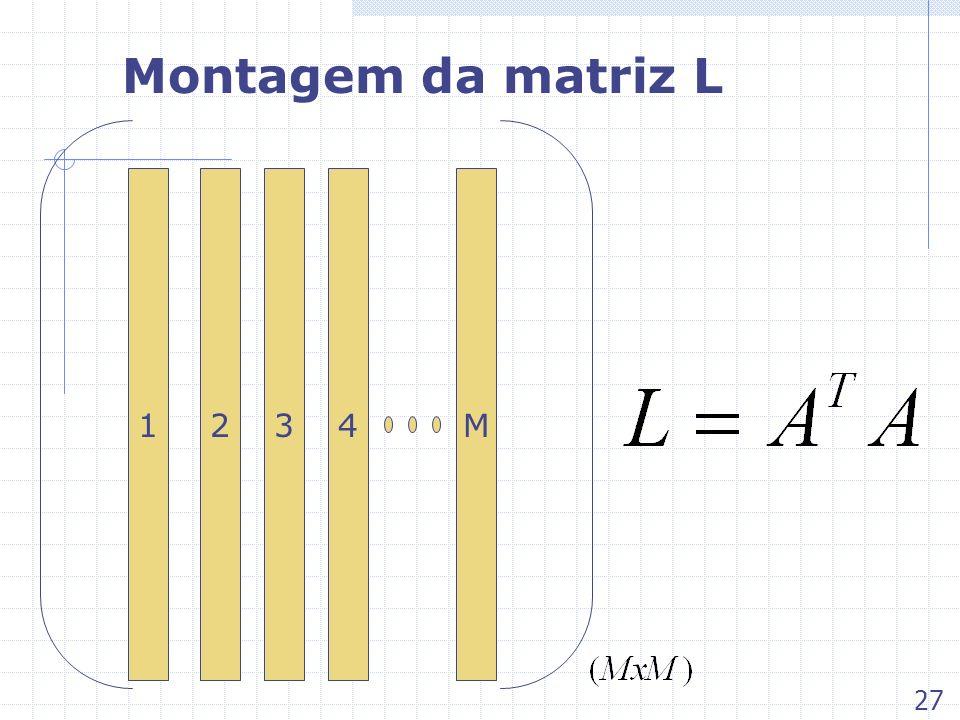 Montagem da matriz L 134M2 27
